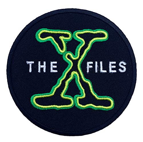 Die X-Files Patch Nähen oder Bügeln (8 cm) bestickt Badge xfiles Retro Souvenir DIY Kostüm X-Files Poster Alien I Want To Believe ET Aliens