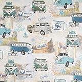 Fabulous Fabrics Panama VW Original Vintage Bus - Meterware