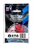 GripIt Rot 18 mm Gipskarton-Befestigungen für Ständerwände – Maximale Belastung 74 kg (4 Stück)