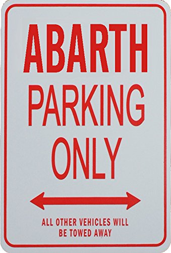 Signes de stationnement ABARTH - Fiat ABARTH Parking Only Sign