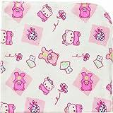 Playshoes Molton 770253-1818 Cotton Cloth Set of 3 40 x 40 cm Printed Pink