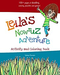Leila's Nowruz Adventure: Activity and Coloring Book