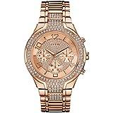 Guess Damen-Armbanduhr Analog Quarz Edelstahl W0628L4