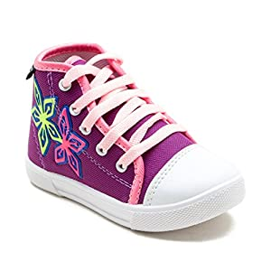 Begetter The Inceptioner Girls Purple Canvas Casual Boot