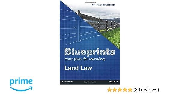 Blueprints land law amazon elliot schatzberger blueprints land law amazon elliot schatzberger 9781447904946 books malvernweather Images