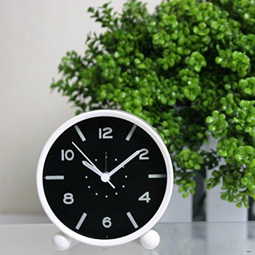 Shuangklei Reloj Alarma Cronómetro Despertador Luz