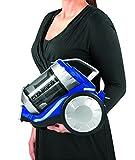 Cleanmaxx 09897 Zyklon-Staubsauger | 700 W | Beutellos | Haushaltsreinigung | Power 3000 | Bodenreinigung, Für Alle Böden, blau / silber -