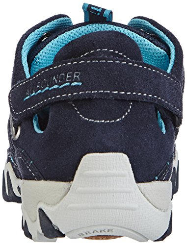 Allrounder by Mephisto Niwa, Baskets mode femme Bleu (Cow Suede 55/O Mesh 55)
