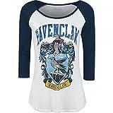 yvolve Harry Potter - Ravenclaw - Longsleeve | Langarmshirt mit 3/4 Ärmel | U-Boot Ausschnitt