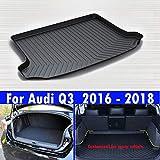 Le nouveau noir le coffre de la voiture de cuir mat tapis de coffre de véhicule...