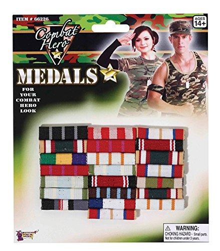 Forum Neuheiten 66226Military Medal Bars, eine (Armee Allgemeine Kostüm)