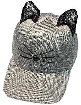 Sombreros de mujer Switchali moda Gorras de béisbol para adultos linda Oído de gato Gorra Casual Al aire libre...