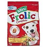 Frolic Complete Cibo per Cane Mini con Pollame/Verdure e Cereali 1 kg - 6 Sacchi