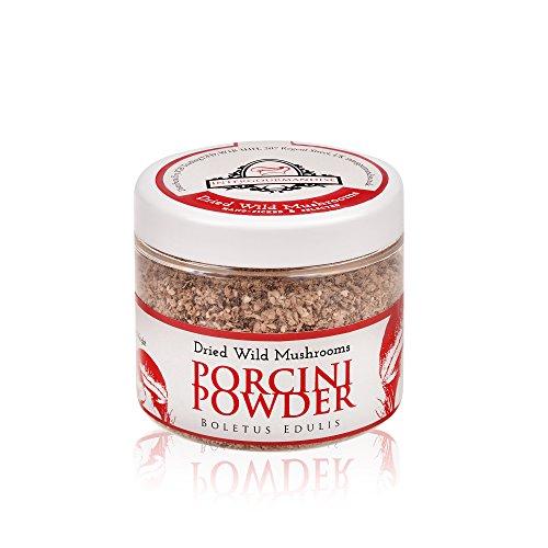 La harina de boletus es un producto elaborado a partir de setas silvestres deshidratadas, que, una vez seleccionadas, son trituradas hasta convertirse en harina, sin conservantes ni ingredientes añadidos. Está hecha de forma totalmente artesanal y pe...