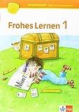 Frohes Lernen Fibel / Arbeitshefte Druckschrift (Teil A-C) mit CD-ROM 1. Schuljahr