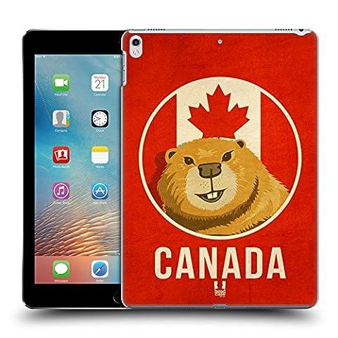 Head Case Designs Canada Animaux Patriotiques Étui Coque D'Arrière Rigide Pour Apple iPad Pro 2 10.5 (2017)