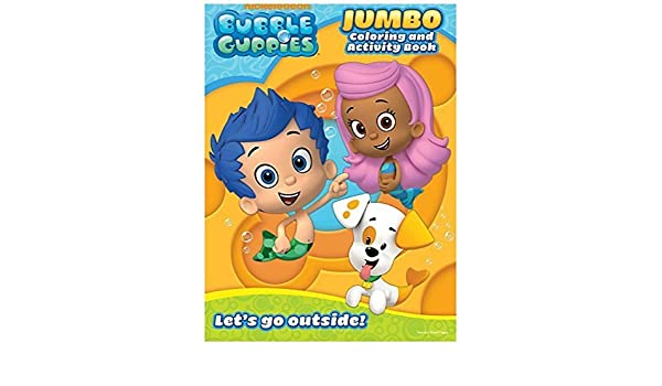 Buy Bubble Guppies Educational Coloring And Activity Book