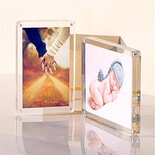 Weiyikang Clear Acrylic Photo Frame Acrylic Magnetic Picture Frames