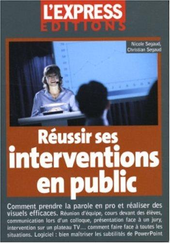 REUSSIR INTERVENTIONS PUBLIC