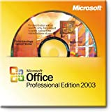 Microsoft OEM Office 2003 Professional Edition - 1 Pack