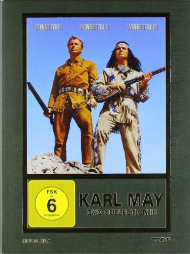 Preisvergleich Produktbild Karl May DVD-Collection 3 (Winnetou I / Winnetou II / Winnetou III) (3 DVDs)