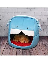 Berrose de Gato Creativo Teddy Zwinger de Gato Nest Plegable Mascotas Casa Tienda Nest Cama Caliente