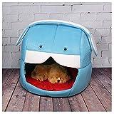 Berrose-Katze Kreativ Teddy Zwinger Katzen-Nest Faltbar Haustier Haus Zelt Nest Bett Warm Cozy Abnehmbar Klein Hundehaus Hundehöhle Kuschelhöhle