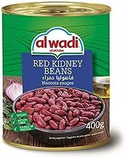 Al Wadi Akdhar Red Kidney Beans,400 gm