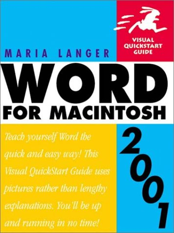 Visual QuickStart Guide: Microsoft Word for Macintosh 2001 (Visual QuickStart Guides)