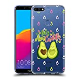 Head Case Designs Avocuddle Alles Ueber Avocados Soft Gel Hülle für Huawei Honor 7C / Enjoy 8