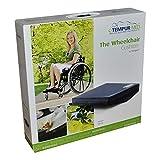TEMPUR® Rollstuhlkissen gewölbt, Größe:45 x 40 x 9/5 PU