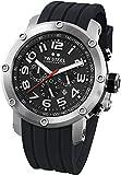 TW Steel Herren-Armbanduhr XL Tech Chronograph Quarz Kautschuk TW121