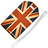Stray Decor (Vintage Union Jack) Luggage Tag / Name & Address Travel ID Label