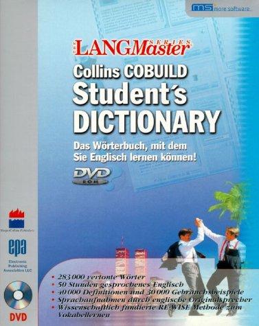 Collins Cobuild Student's Dictonary - das Wörterbuch, mit dem Sie Englisch lernen können!
