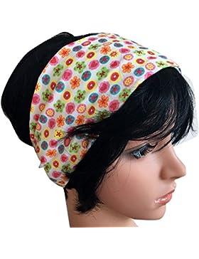 WOLLHUHN ÖKO Süßes elastisches TWIST Haarband / Stirnband, gedreht,
