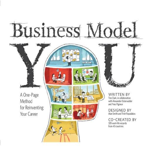 Buchseite und Rezensionen zu 'Business Model You: A One-Page Method For Reinventing Your Career' von Timothy Clark