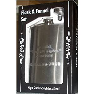 Personalized Flask and Funnel Gift Set, Garden, Haus, Garten, Rasen, Wartung