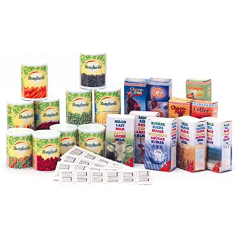 Klein - 9344 - comestibles - pequeño comerciante - Alimentos y Accesorios para Registrarse en efectivo