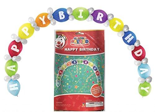 tstag Ballon Bogen Dekoration DIY Kit (65 Balloons) (Ballon-bogen-zum Geburtstag-party)