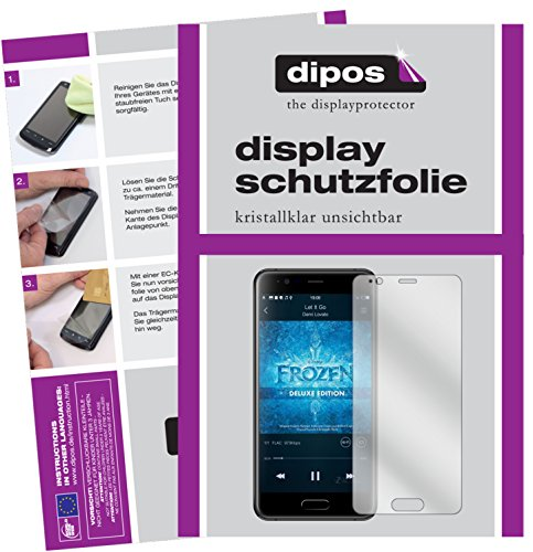 dipos I 2X Schutzfolie klar passend für Blackview P6000 Folie Bildschirmschutzfolie