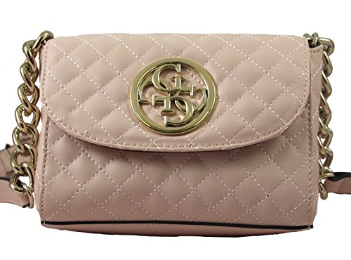 GUESS G Lux Mini Crossbody Blush (Guess Mini Damen)