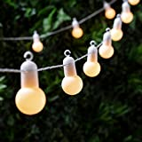 20er Party LED Lichterkette warmweiß Innen- und Außenbereich