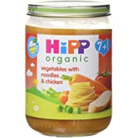 HiPP Organic Vegetables with Noodles and Chicken 190 g (Pack of 6) preiswert