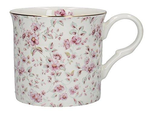 Katie Alice Ditsy Floral Becher aus feinem Knochenporzellan, 230 ml (8 Flüssigunzen) Bone China Cup 8