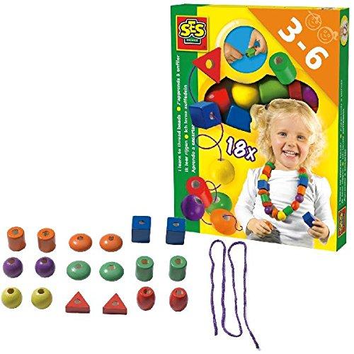SES - 14808 - Loisir Créatif - J'apprends à Enfiler des Perles