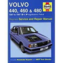 Volvo 440, 460 and 480 (1987-97) Service and Repair Manual (