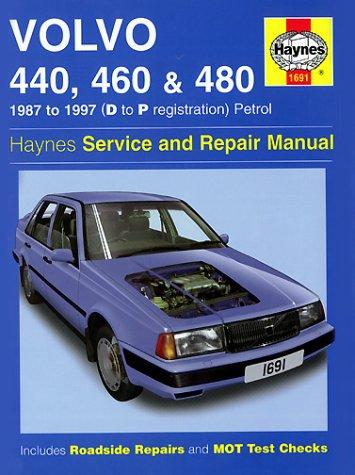Volvo 440, 460 and 480 (1987-97) Service and Repair Manual (Haynes Service and Repair Manuals) por A. K. Legg