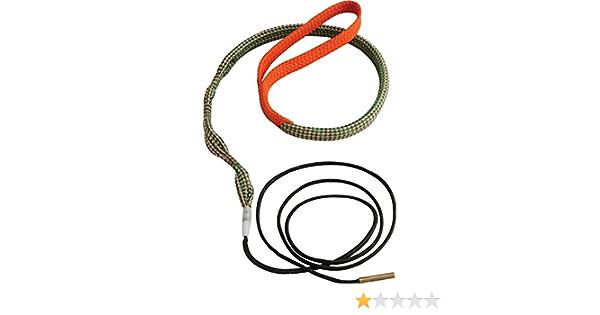 ENET Nettoyant pour Boresnake Canon de Fusil /à Serpent Kit de Nettoyage de Couleuvre Corn/ée Nettoyeur dal/ésage de Corde 17 .17 HMR