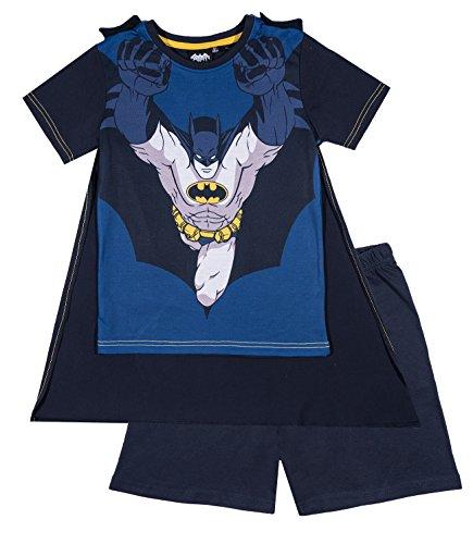 Batman Chicos Pijama mangas cortas – Azul
