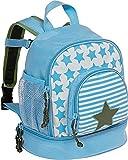 LÄSSIG Zainetto per bambini per Asilo o Tempo Libero con Cintura Toracica/ Mini Backpack, Starlight Olive